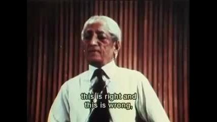 J. Krishnamurti 1970 Public Talk Part 3 of 6