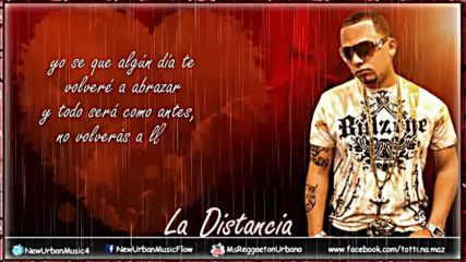 Jadiel el incomparable - La Distancia (letra Original Reggaeton )