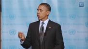 Barack Obama пее песента Boyfriend на Justin Bieber