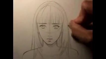 How To Draw a Realistic Manga Face_ Female