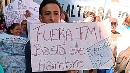Argentina: Thousands protest poor living conditions in capital