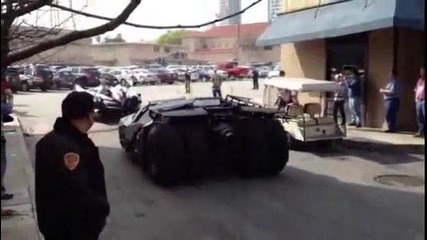 Batmobile Parade