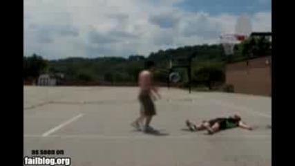Ужасно пребиване в баскетбола