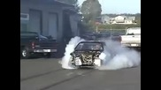 Honda Crx Hmt Turbo Burnout
