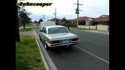 Ревящ като тигър Mercedes 450sel 6.9 V8
