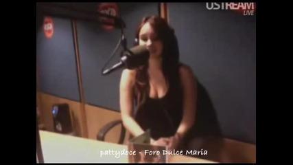 Jessie Cervantes entrevista a Dulce Maria - Exa [parte 2]