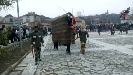 Джумала в село Попинци 22.02.2015 - ( Сирни Заговезни )