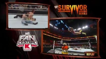 Survivor series 2013 Cm punk and bryan vs wayats