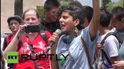 Протести против Монсанто в Лос Анджелис