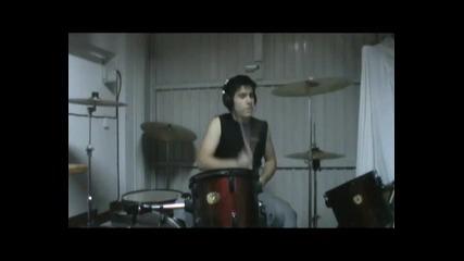 Lollipop A milli Travis Barker - Drum cover