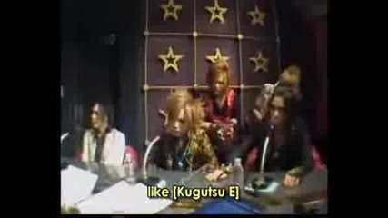 The Gazette - Lyrics Talk In Nec