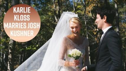 Karlie Kloss's wedding: From the cake, dress & minimoon
