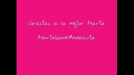 Maria Isabel En Antena 3