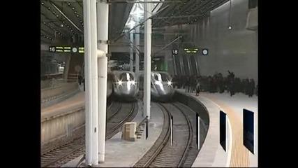 Китай пусна в експлоатация най-бързата железопътна магистрала в света