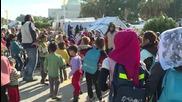 Syria: Internally-displaced Syrians find refuge near Russian air base