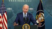 USA: President Biden receives COVID-19 booster shot