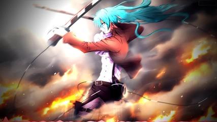 Attack on Titan (armored Titan Theme) feat. Hatsune Miku [ dj-jo Remix ]