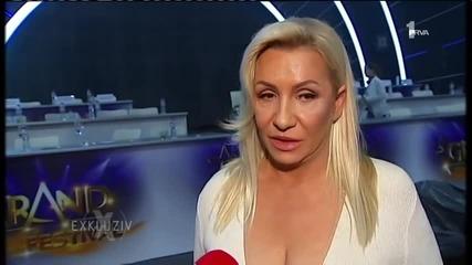 Vesna Zmijanac o Zeljku Rsticu - Intervju - Exkluziv - (TV Prva 2.12.2014.)