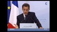 Sarkozy Au G8 Bourree