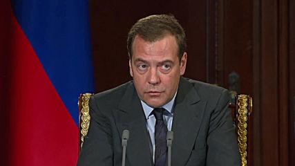 Russia: Medvedev calls WADA ban a continuation of 'anti-Russian hysteria'