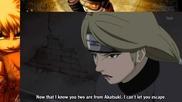 Hidan and Kakuzu vs Yugito Nii (two - Tails)