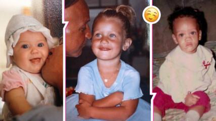 Кои са тези деца? Вижте уникални снимки от детството на Риана, Кейти Пери, Бела Хадид...