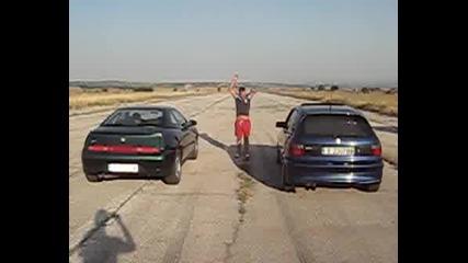 Астра C20xe Lexmaul Vs Alfa vs BMW 325