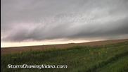 Лошо време в Кресбард, Южна Дакота 23.8.2014