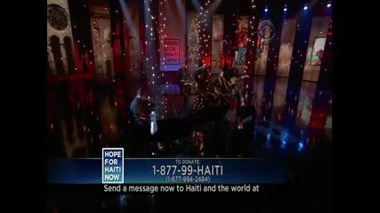 Justin Timberlake Ft Charlie Sexton - Hallelujah (hope For Haiti)