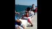 Пътуване с кораб в открито море