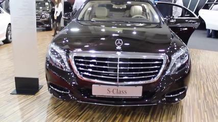Това ли е най-добрият автомобил по пътищата? Mercedes S Class 2015 Бърз Преглед - SVZMobile