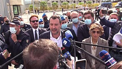 Italy: Salvini on trial for refusing to let Spanish rescue ship dock in Sicily
