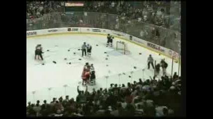 Невероятни Боеве в Хокейни мачове