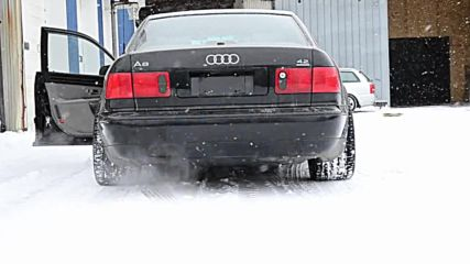 Audi D2 A8 4.2 Muffler Delete