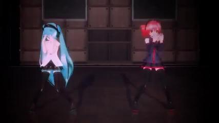 Hatsune Miku and Kasane Teto - Bad Apple