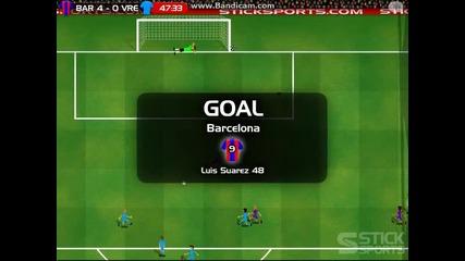 Mачове с гафарата с1 еп 6 Барселона Срещу Велериал Мач От Ла Лига