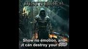 Disturbed - Haunted [lyrics] Кампания да спрем чалгата!