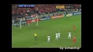 Euro 2008 Швейцария - Португалия 2:0 Якин