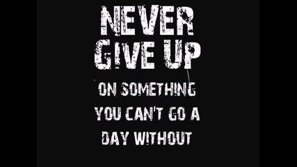 M.j. - Не се отказвай...!