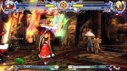 Blazblue: Calamity Trigger Gameplay Montage Hd