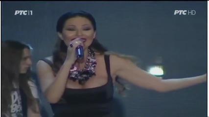 Ceca - 5 minuta - (LIVE) - Tamburica fest - (Tv Rts 2014)