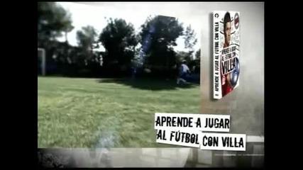 Aprende a jugar al futbol con Villa - muzaferko