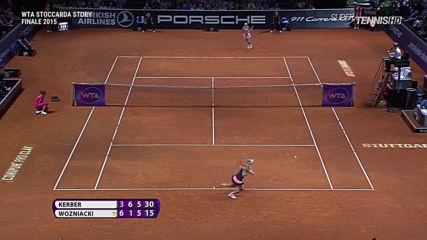 Wta Extended Kerber vs Wozniacki Stuttgart 2015 1080p
