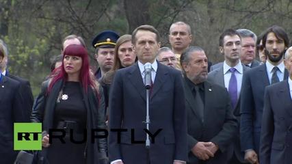 Russia: Grand Duke Nikolai Romanov Jr. reburied at Bratsk Military Cemetery