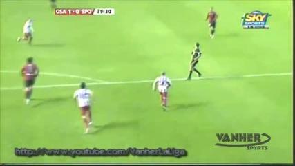 Осасуна - Спортинг Хихон 1 - 0 (2010 - 11 - 21) La Liga