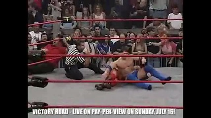T N A Aj Styles vs. Petey Williams Victory Road 2004