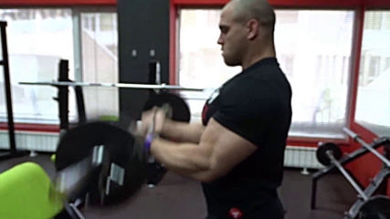 Сгъване за бицепс с крив лост - Атанас Николаев