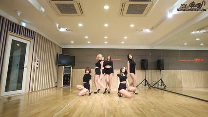 Aoa - 사뿐사뿐(like a Cat) 안무영상(dance Practice)