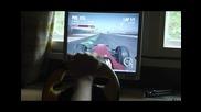 F1 2010 gameplay - Кормило и педали [atisas]