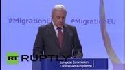 Европейската комисия предлага задължителни имигрантски квоти за страните в ЕС